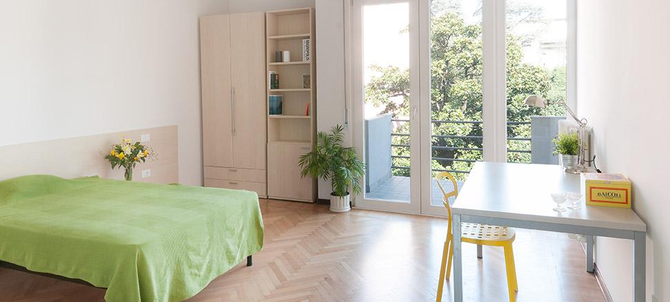 affitto appartamento arredato mestre venezia stanze singole